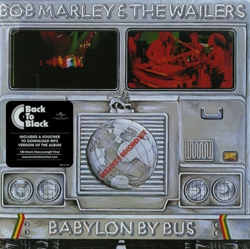 BOB MARLEY AND THE WAILERS Babylon By Bus Vinyl Record LP Island 2015